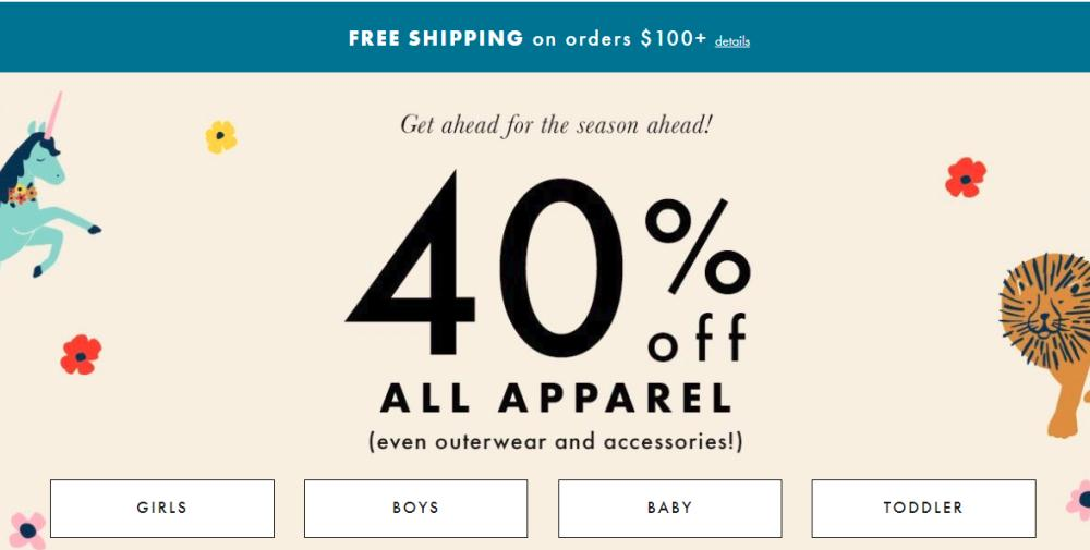 Hanna Andersson Coupons - 40% Off on Apparel + Outerwear Promo