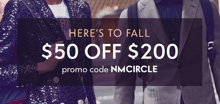 Neiman Marcus - $50 Off $200 Regular-Priced Fashion and Home Purchase