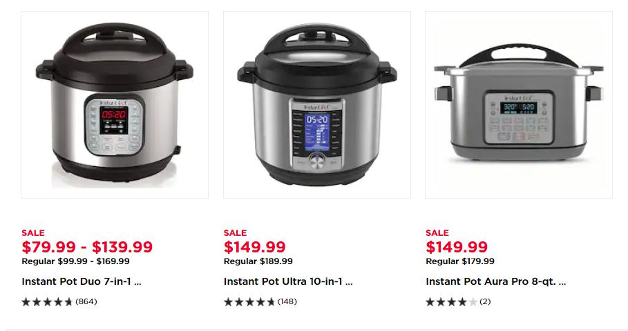 Get Instant Pot Pressure Cookers at Kohl's from $59 with Kohls Coupons